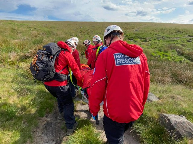Calder Valley Search and Rescue Team.