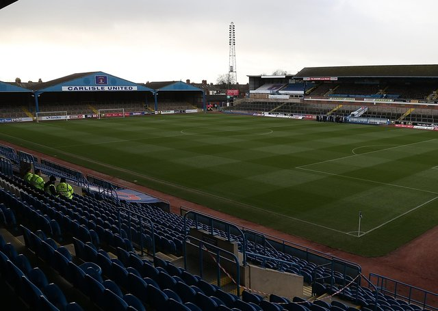 A general view of Brunton Park.  (Photo by Pete Norton/Getty Images)