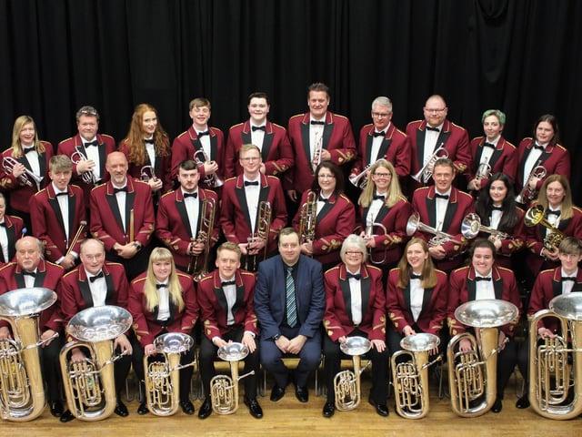 Elland Silver Band (picture Poppy McCabe)