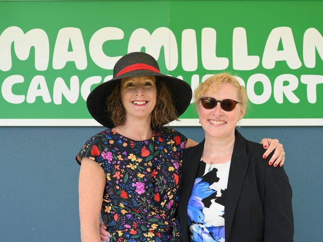 Nicky Hill and Helen Jones, Macmillan professionals at Calderdale and Huddersfield NHS Foundation Trust