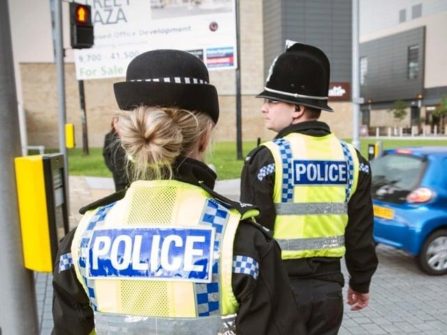 A suspected drug dealer was arrested in Halifax town centre