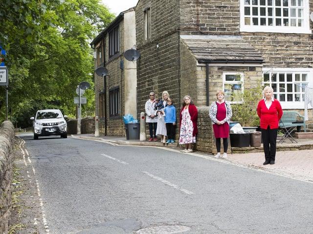 Residents have raised concerns over speeding motorists