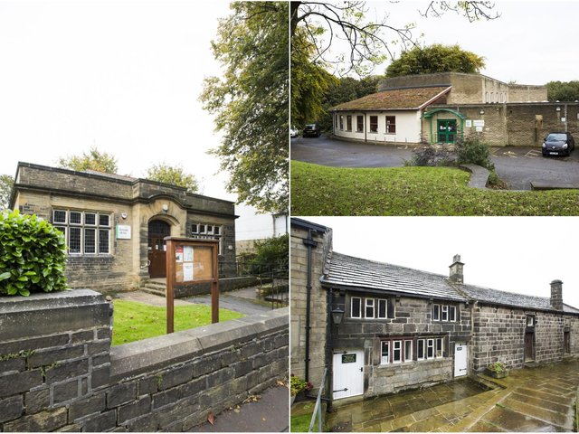 Skircoat Library, Shelf Village Hall and Library, and Heptonstall Museum