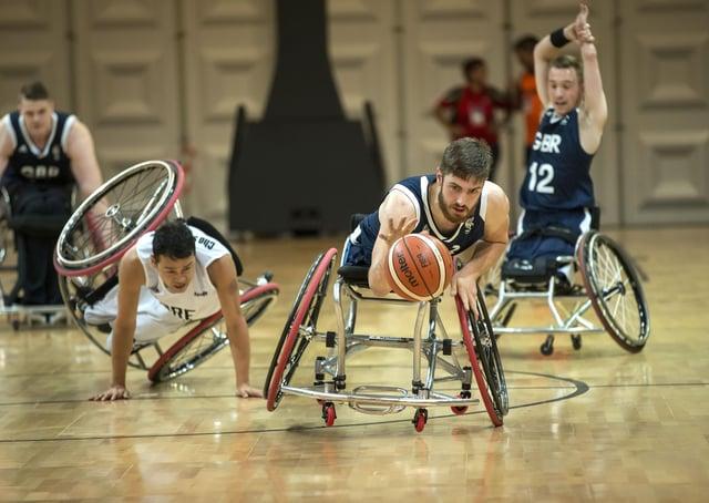 Harry Brown. Photo: British Wheelchair Basketball / SA Images.