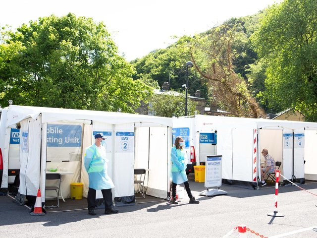Surge testing has come to an end in Calderdale