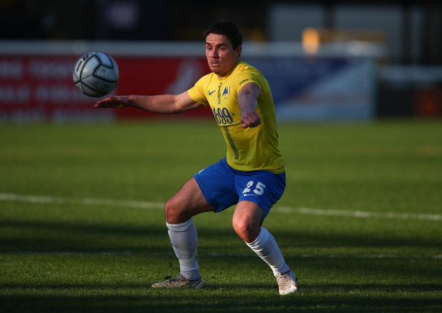Billy Waters in action for Torquay United against Woking in February. (Photo by Marc Atkins/Getty Images)