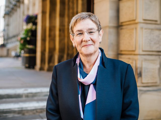 Councillor Jane Scullion, Calderdale Council's Cabinet Member for Regeneration and Strategy,