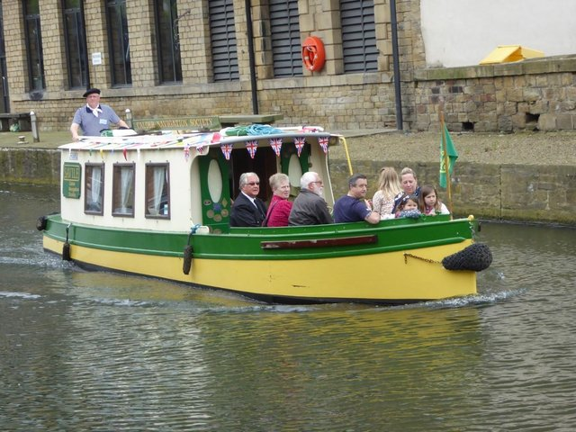 Canal trips will be running in Brighouse
