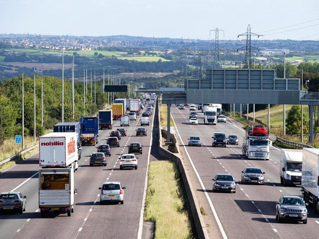 Essential maintenance to be carried out along M62