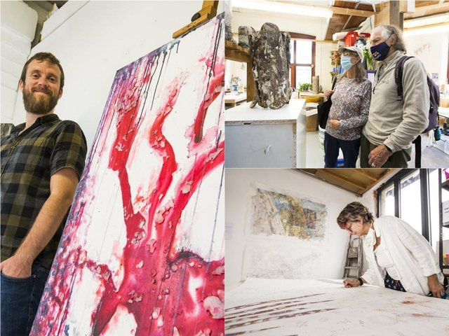 Artists welcome visitors to see their work at Hebden Bridge Open Studios
