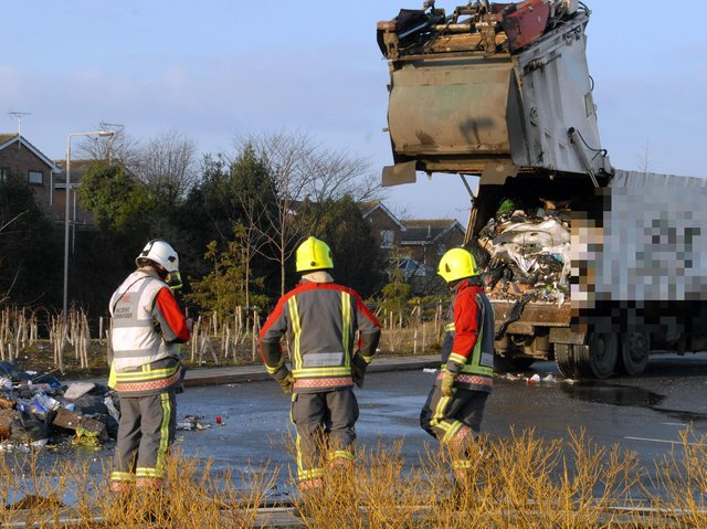 Questions were raised about the burning of rubbish by businesses