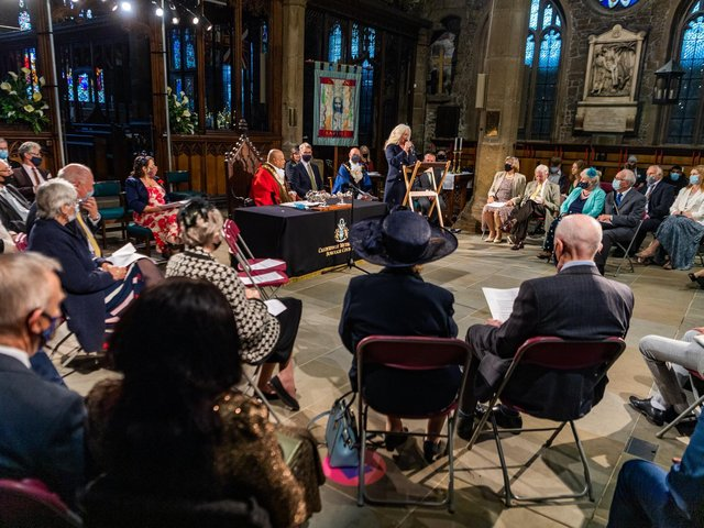 Full Council meeting at Halifax Minster