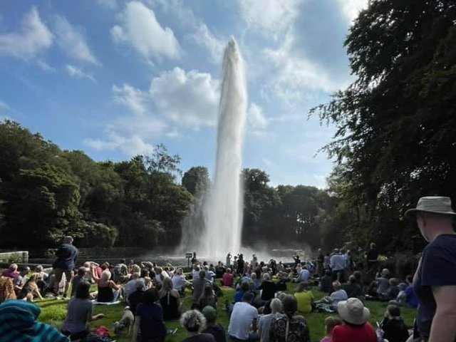 Castle Carr Fountain. Picture: Halifax Rotary Club.