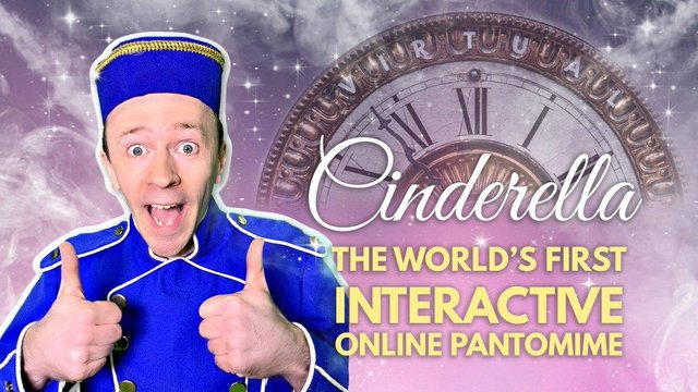 Panto Live presenting Cinderella - 'the world's first interactive online panto
