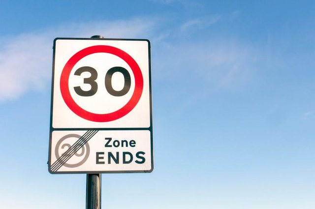 Compliance is less than 50 per cent in 30mph zones and even worse in 20mph areas