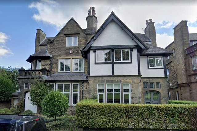 This 'superb period residence' enjoys an enviable location, overlooking Halifax's Savile Park.